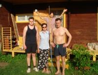 Устьянцевы - День пограничника
